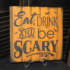 mummy s bed and breakfast sign halloween halloween party sign