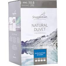 Snuggledown Of Norway Duvet King 10 5 Tog Duck Feather U0026 Down Duvet Duvets U0026 Pillows Bed