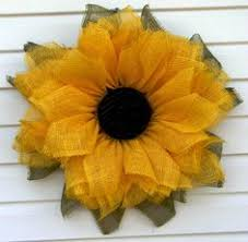 sunflower mesh wreath a personal favorite from my etsy shop https www etsy listing