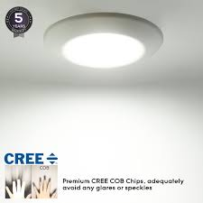 recessed can light bulbs 13w dimmable retrofit led surface recessed light torchstar