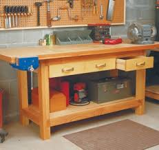 Tool Bench Plans Workbenches Carts U0026 Stands Woodsmith Plans