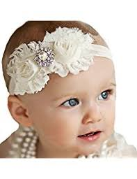 baby girl bows ivory hair accessories accessories clothing