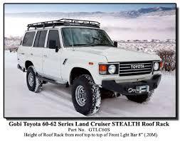 roof rack for toyota sequoia toyota land cruiser 60 62 gobi roof racks