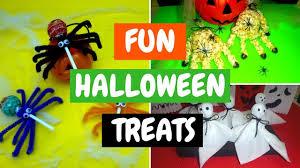 fun halloween treats easy treats for kids to make youtube