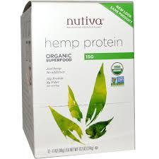 nutiva organic superfood hemp protein 12 packets 1 1 oz 30 g