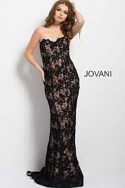 Black And Gold Lace Prom Dress Prom Dresses And Designer Prom Gowns 2018 Jovani