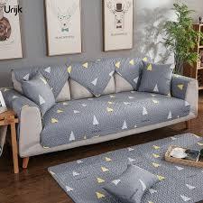 grey twill sofa slipcover urijk 1pc top quality sofa cover fabric fleece knit anti slip couch
