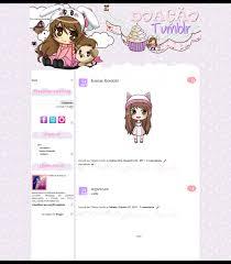 templates blogger personalizados arts da tata template personalizado doação tumblr
