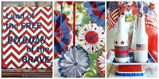 Fourth Of July Table Decoration Ideas 26 Easy 4th Of July Crafts Patriotic Craft Ideas U0026 Diy