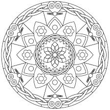 free printable mandalas free printable mandala coloring pages