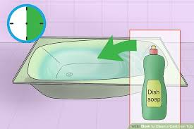 How To Install A Cast Iron Bathtub 3 Ways To Clean A Cast Iron Tub Wikihow