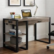 walker edison urban blend computer desk walker edison urban blend computer desk walmart com