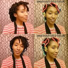 stranded rods hairstyle style update the curly twist out using flexi rods beautifully curled