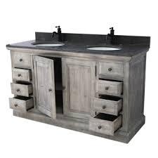 Rustic Wood Bathroom Vanity - rustic bathroom vanities u0026 vanity cabinets shop the best deals