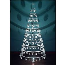 modern tree pearl with silver ornaments by modern tree