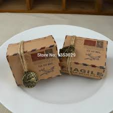 wholesale vintage rustic wedding supplies air mail kraft paper