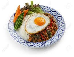 cuisine gap stir fried chicken with holy basil gai pad bai gaprow