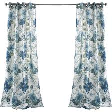 decorating floral ruflle paisley curtains for bathroom decoration