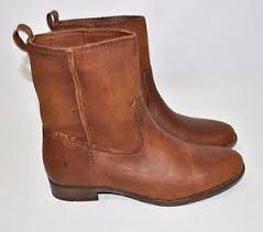 s frye boots size 9 frye cara boots size 9 5 b cognac leather 78323 328 ebay