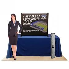 table top flag stands table top banner stands affordable exhibit display