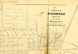 Richmond Virginia Map by The Shockoe Examinerblogging The History Of Richmond Virginia