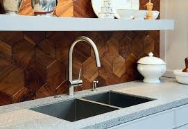 wood backsplash kitchen geometric backsplash designs and kitchen décor possibilities