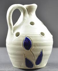 Vase Shaped Jug Williamsburg Pottery Jug Shape Flower Frog Vase 4