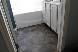 Vinyl Laminate Flooring For Bathrooms Applying Stick On Floor Tiles Design