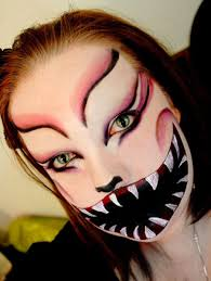images of halloween face picture painting women 3d best tattoo
