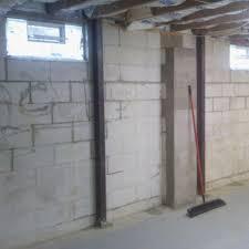 Ohio Basement Waterproofing by Bowed Basement Walls U0026 Foundation Repair C U0026 J Basement Solutions