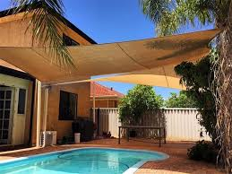 custom equilateral triangle sun shade sail canopy awning patio