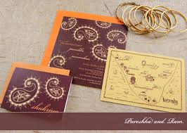 contemporary indian wedding invitations modern wedding cards stationery by 3 bees paperie myshaadi in