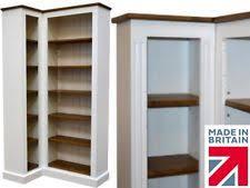Tall Corner Bookshelves by Corner Bookshelf Furniture Ebay