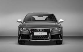 audi rs7 front audi rs 7 photos rs 7 interior and exterior photos rs 7 features