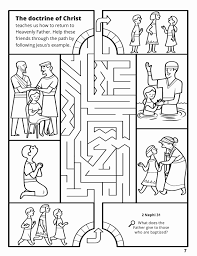 lds coloring pages i can be a good exle baptism coloring pages printables pics lds baptism coloring pages