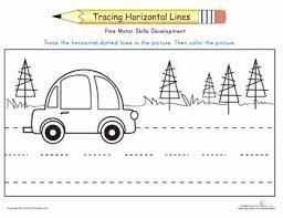 24 best preschool horizontal u0026 vertical strokes images on