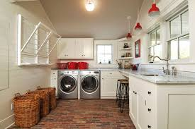 Countertop Clothes Dryer Farmhouse Laundry Rooms Country Laundry Room John Hummel