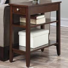 end u0026 side tables with drawers wayfair