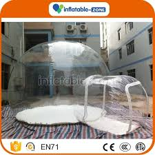 Transparent Tent Clear Inflatable Lawn Tent Inflatable Transparent Tent Inflatable
