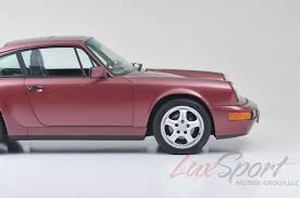 porsche 964 red 1990 porsche 964 carrera 2 coupe carrera stock 1990105 for sale