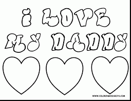 awesome fathers day coloring pages to print with happy fathers day