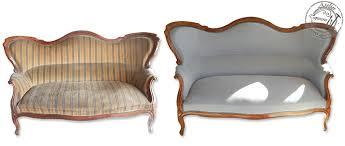 restaurer canapé atelier secrets de siège canapé à bosse napoléon iii avec un