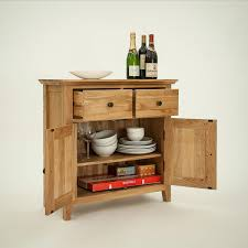 Oak Small Sideboard Hereford Rustic Oak Small Sideboard Abode Style