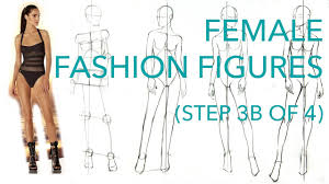 How To Draw Fashion Designs How To Draw Fashion Figures Step 3b Of 4 Drawing The Upper Body
