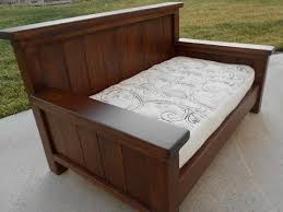 wood twin daybed frame youtube