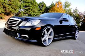 lexus niche wheels mercedes e class with 20in niche milan wheels exclusively from