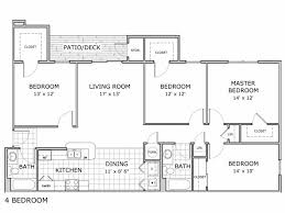 4 bedroom apartment floor plans 4 bed 2 bath apartment in springfield mo palm village