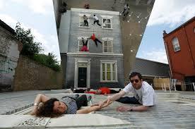 weird house gravity defying dalston house art installation art installation