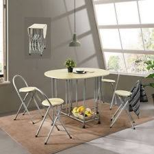 stainless steel dining room table u0026 chair sets ebay