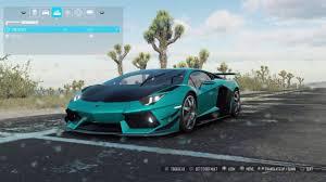 Lamborghini Aventador Specs - the crew wild run lamborghini aventador perf spec customisation
